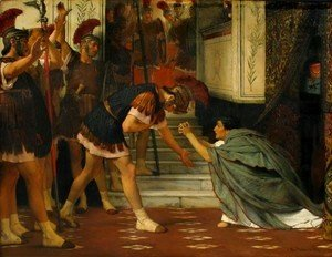 Sir Lawrence Alma-Tadema - Claudius Summoned