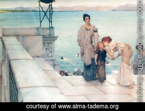 Sir Lawrence Alma-Tadema - A Kiss