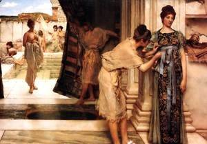 Sir Lawrence Alma-Tadema - The Frigidarium