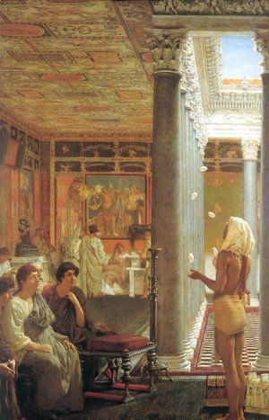 Sir Lawrence Alma-Tadema - Egyptian Juggler