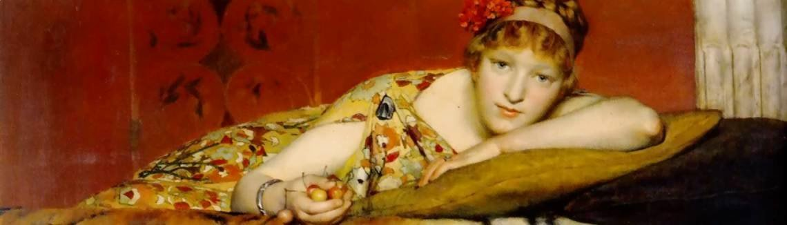 Sir Lawrence Alma-Tadema - Cherries