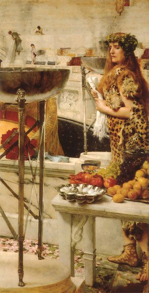 Sir Lawrence Alma-Tadema - Preparation in the Coliseum
