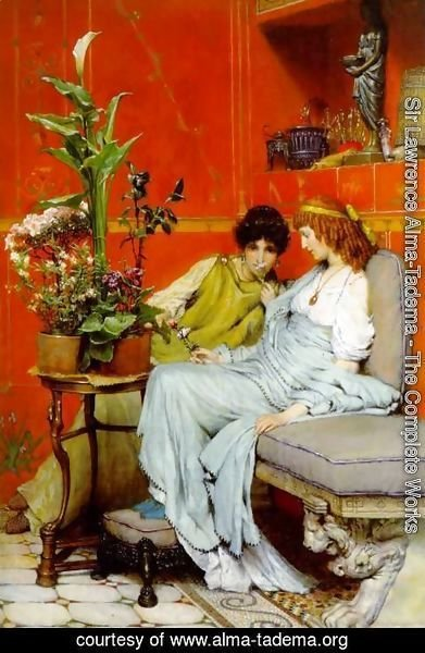 Sir Lawrence Alma-Tadema - Confidences