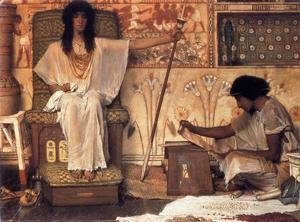 Sir Lawrence Alma-Tadema - Joseph - Overseer of the Pharoah's Granaries