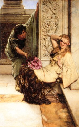 Sir Lawrence Alma-Tadema - Shy