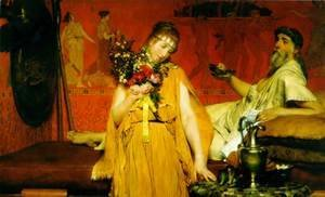 Sir Lawrence Alma-Tadema - Between Hope and Fear