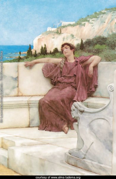 A Female Figure Resting (or Dolce far Niente)