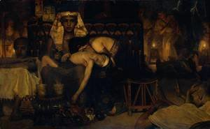 Sir Lawrence Alma-Tadema - Death of the Pharaoh's Firstborn Son