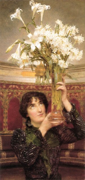 Sir Lawrence Alma-Tadema - Flag Of Truce