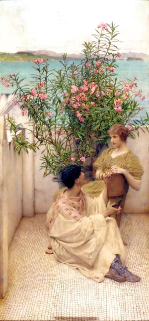 Sir Lawrence Alma-Tadema - Courtship