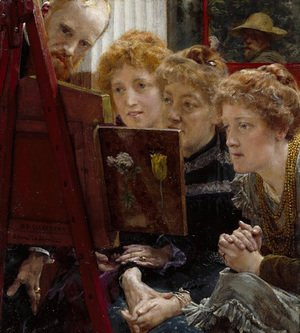 Sir Lawrence Alma-Tadema - A Family Group