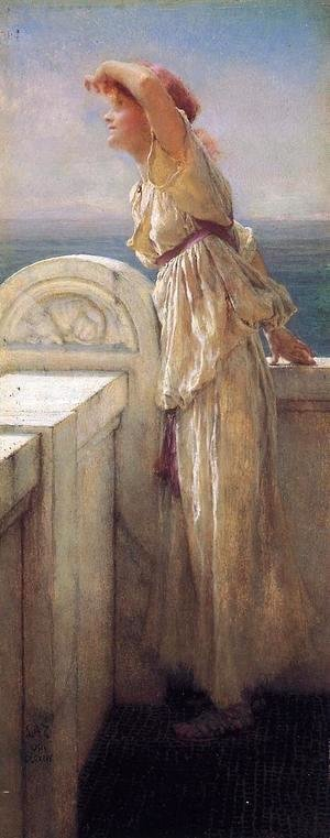 Sir Lawrence Alma-Tadema - Hopeful