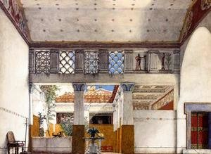 Sir Lawrence Alma-Tadema - Interior of Caius Martius's House