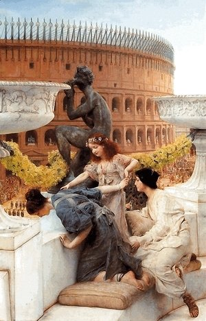 Sir Lawrence Alma-Tadema - The Colosseum