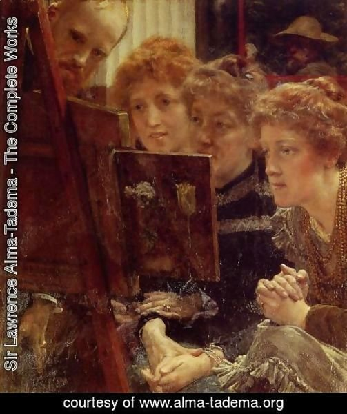Sir Lawrence Alma-Tadema - The Family Group