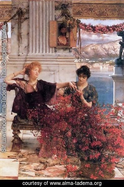 Sir Lawrence Alma-Tadema - Love's Jewelled Fetter
