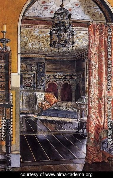Sir Lawrence Alma-Tadema - The Drawing Room at Townshend House