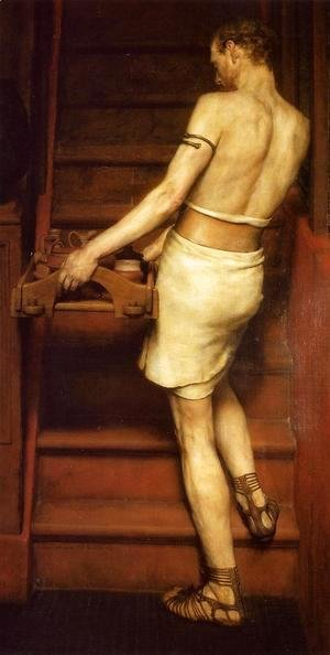 Sir Lawrence Alma-Tadema - The Roman Potter