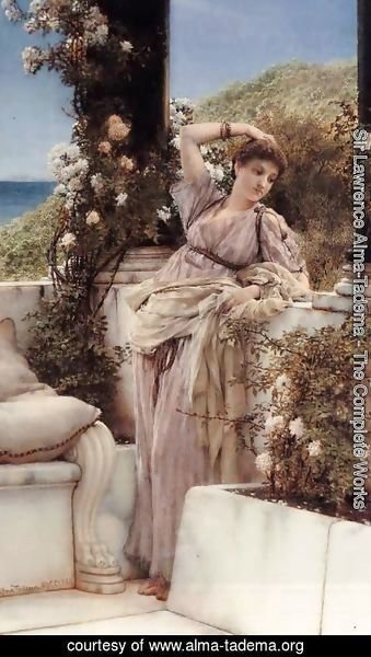 Sir Lawrence Alma-Tadema - Thou Rose of all the Roses