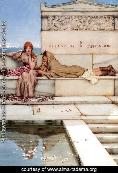 Sir Lawrence Alma-Tadema - Xanthe and Phaon