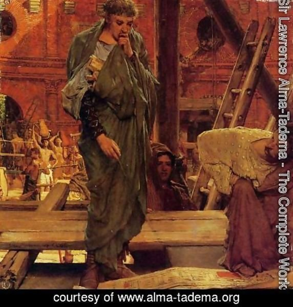 Sir Lawrence Alma-Tadema - Architecture in Ancient Rome