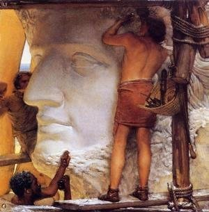 Sir Lawrence Alma-Tadema - Sculptors in Ancient Rome