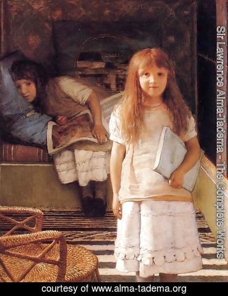 Sir Lawrence Alma-Tadema - This is our Corner (or Laurense and Anna Alma-Tadema)