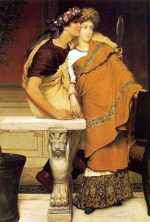 Sir Lawrence Alma-Tadema - The Honeymoon