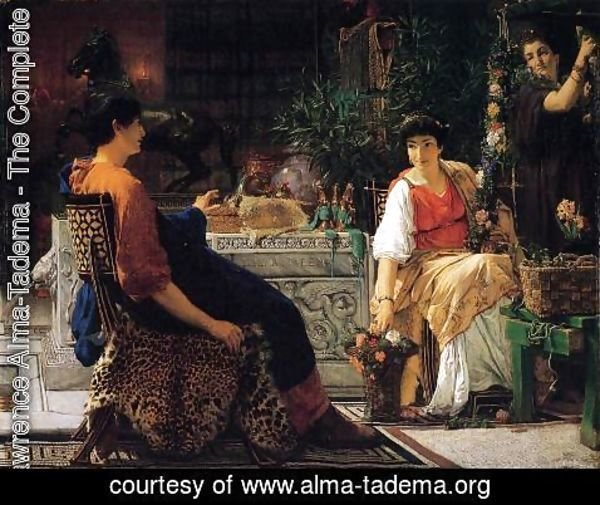 Sir Lawrence Alma-Tadema - Preparations for the Festivities