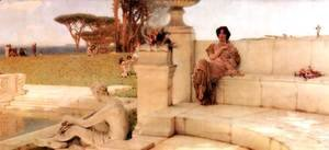 Sir Lawrence Alma-Tadema - The Voice of Spring
