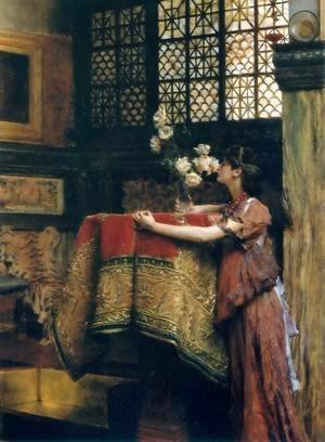 Sir Lawrence Alma-Tadema - In My Studio