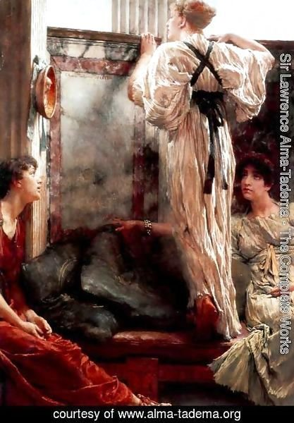 Sir Lawrence Alma-Tadema - Who is it?