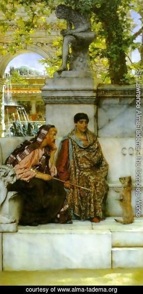 Sir Lawrence Alma-Tadema - In the Time of Constantine