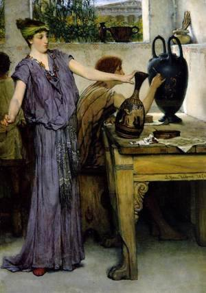 Sir Lawrence Alma-Tadema - Pottery Painting