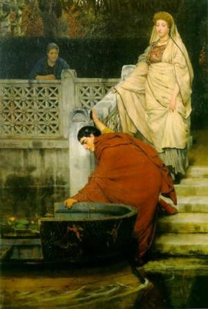 Sir Lawrence Alma-Tadema - Boating