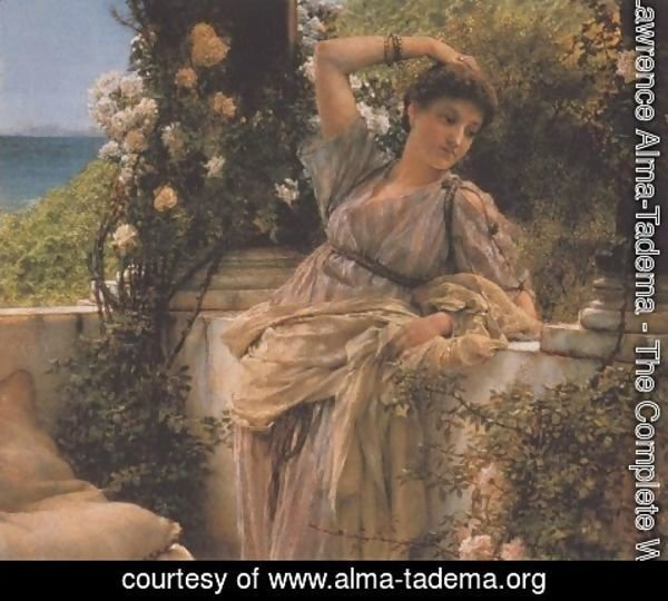 Sir Lawrence Alma-Tadema - Thou Rose of All Roses