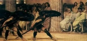 Sir Lawrence Alma-Tadema - A Pyhhric Dance
