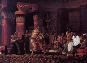 Sir Lawrence Alma-Tadema - Pastimes in Ancient Egypt, 3,000 Years Ago