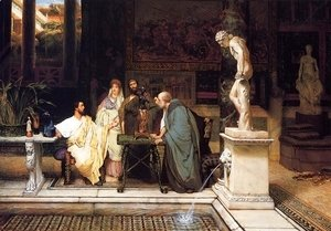 Sir Lawrence Alma-Tadema - A Roman Art Lover 2