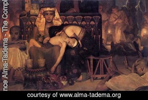 Sir Lawrence Alma-Tadema - The Death of the First Born