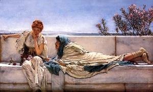 Sir Lawrence Alma-Tadema - Pleading