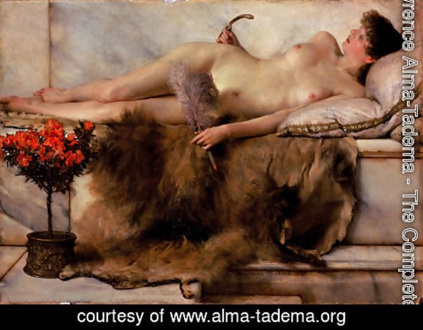 Sir Lawrence Alma-Tadema - In the Tepidarium