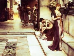 Sir Lawrence Alma-Tadema - The Apodyterium