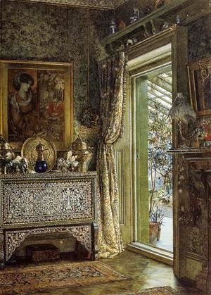 Sir Lawrence Alma-Tadema - Drawing Room, Holland Park