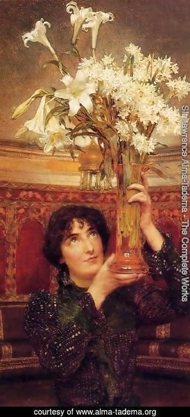 Sir Lawrence Alma-Tadema - A Flag of Truce