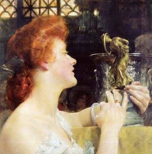 Sir Lawrence Alma-Tadema - The Golden Hour