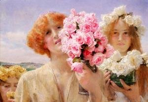 Sir Lawrence Alma-Tadema - Summer Offering I