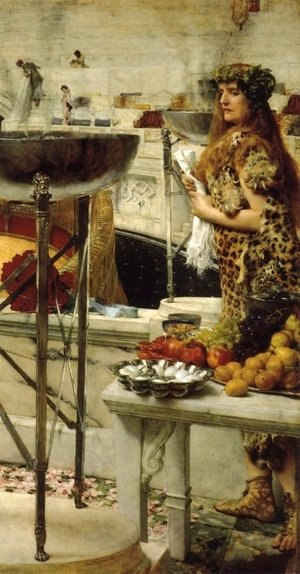 Sir Lawrence Alma-Tadema - Preparation in the Colosseum