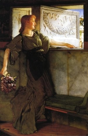 Sir Lawrence Alma-Tadema - A Love Missle