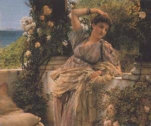 Sir Lawrence Alma-Tadema - The Frigidarium I